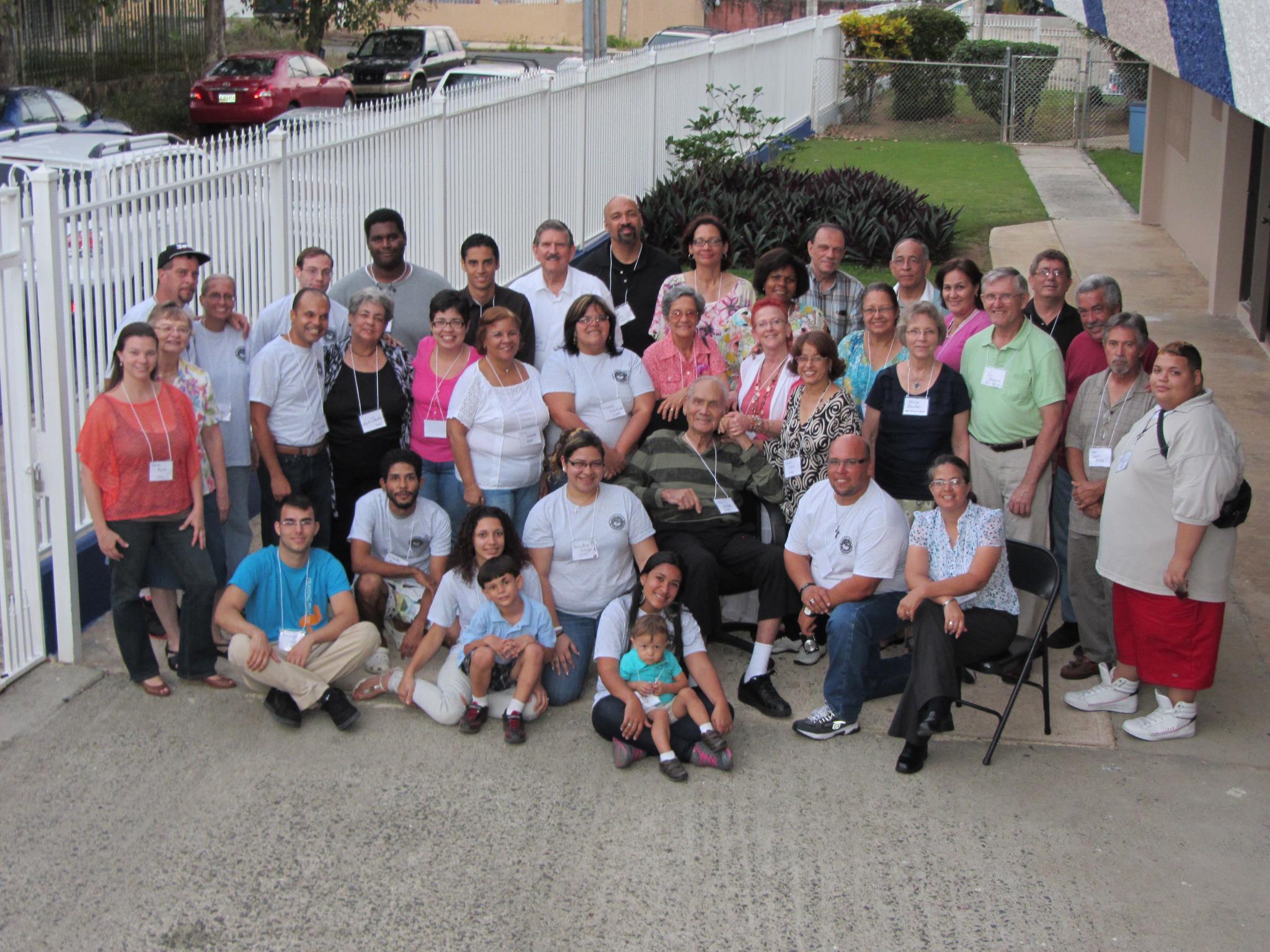 Church Congregation 2013