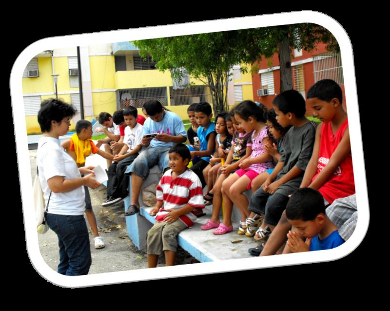 Pastor ministering in Monte Hatillo